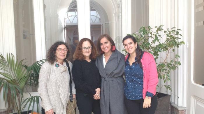 Las representantes de las organizaciones de la sociedad civil de PASCA en el Cono Sur