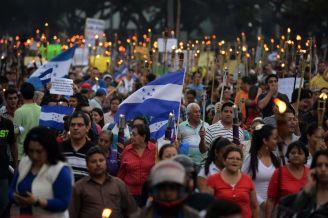 Honduras protesta