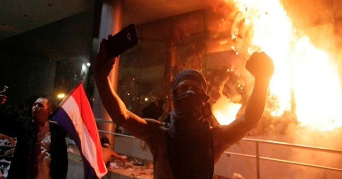Paraguay protesta