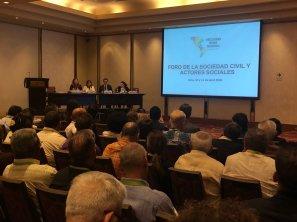 Foro de la Sociedad Civil y Actores Sociales - 11 de abril (Foto archivo OEA)