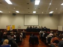 Presentación resolución CIDH con Luis Almagro, Secretario General de la OEA, y comisionados
