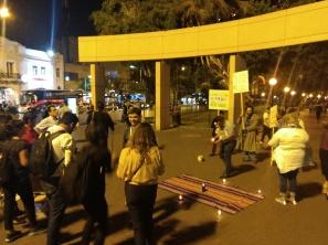 Manifestación en el Parque Kennedy de Lima entre activistas LGBTI y líderes religiosos - 11 de abril