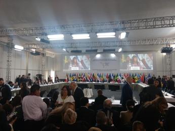 Diálogo entre los actores sociales y los representantes de alto nivel de los gobiernos - 12 de abril