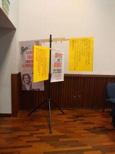 Descripción del auditorio en homenaje a Marielle Franco