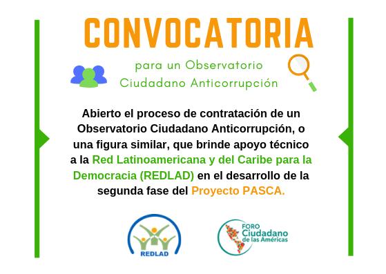 para un Observatorio Ciudadano Anticorrupción